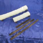 Ersatzgummi in den Breiten 19cm, 32cm und 38cm; Ersatzfaser in den Breiten 19cm, 32cm und 38cm